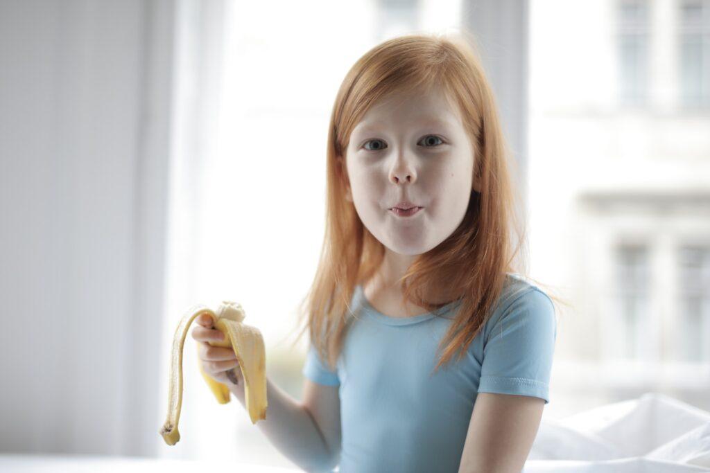 Alimentación saludable en menores.
